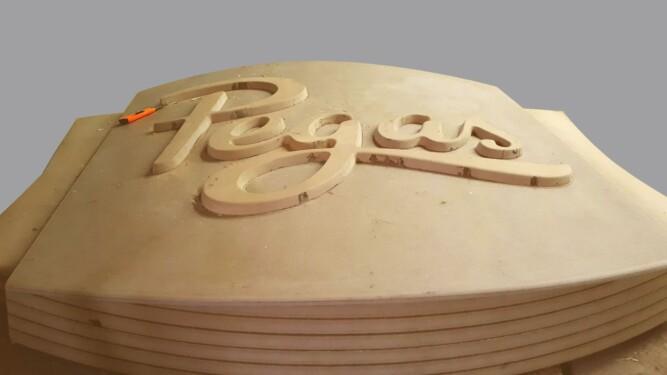 форма lightbox световой короб Pegas Nika Color