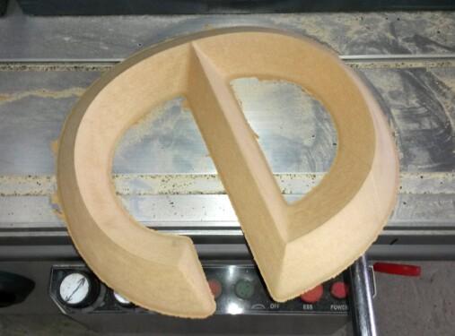 форма мдф формованные буквы Nika Color