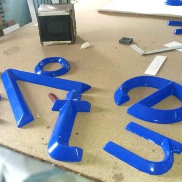 объемные буквы Nika Color