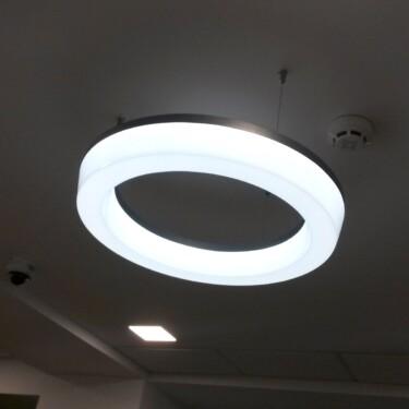 вакуумная формовка светильник из оргстекла Nika Color