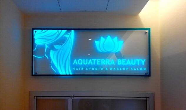 Aquaterra lightbox indoor
