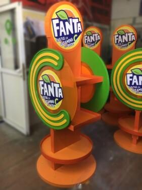 стенд Fanta