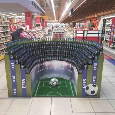 стенд UEFA